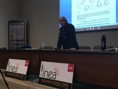 El profesor Pinheiro explicó sus alternativas para una agricultura más sostenible y rentable.