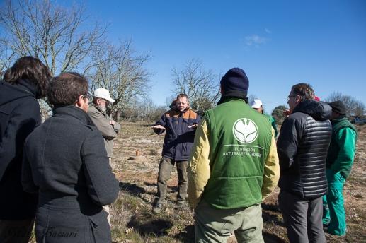 Volterra visita la reserva biológica de FNYH en Salamanca