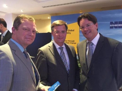 Los fundadores de Volterra conocen al ex-Primer Ministro de los Países Bajos