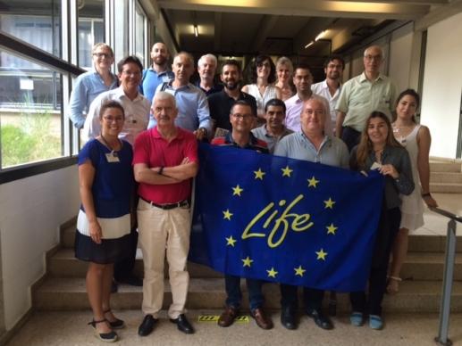 Reunión oficial de lanzamiento del proyecto LIFE THE GREEN LINK