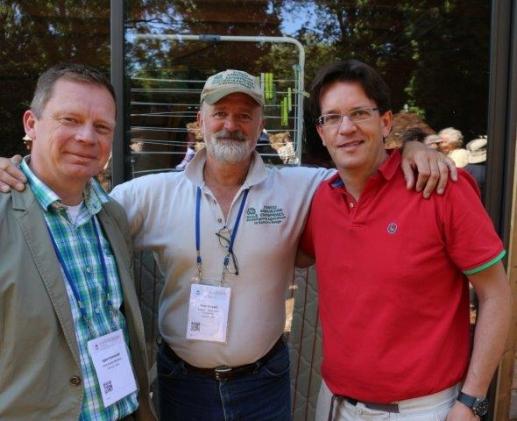 Fundadores Volterra se encuentran con Mark Shepard