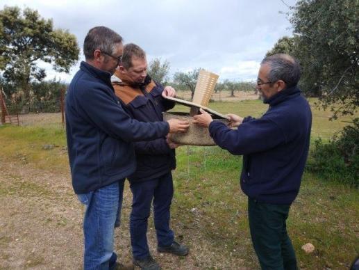 Encuentro con la Universidad de Extremadura y La Fundación Global Nature