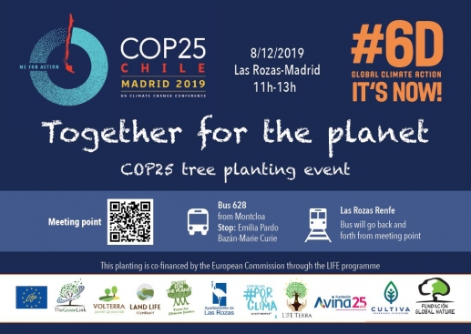 Together for the planet - COP25 Tree planting events