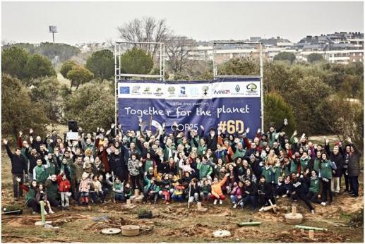 Volterra organizo el exitoso evento de plantación #COP25