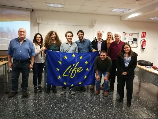 Encuentro en Valencia para reunión de monitoreo Proyecto LIFE The Green Link