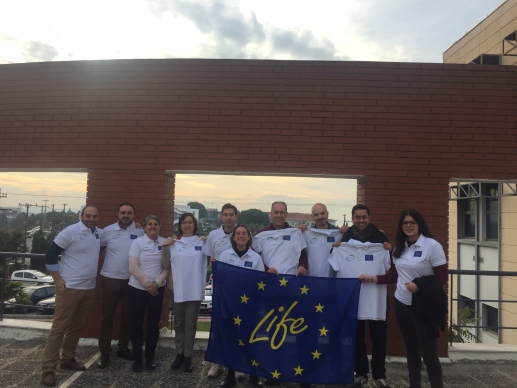 Sexto SCM celebrado en Salónica proyecto LIFE Biomass C+