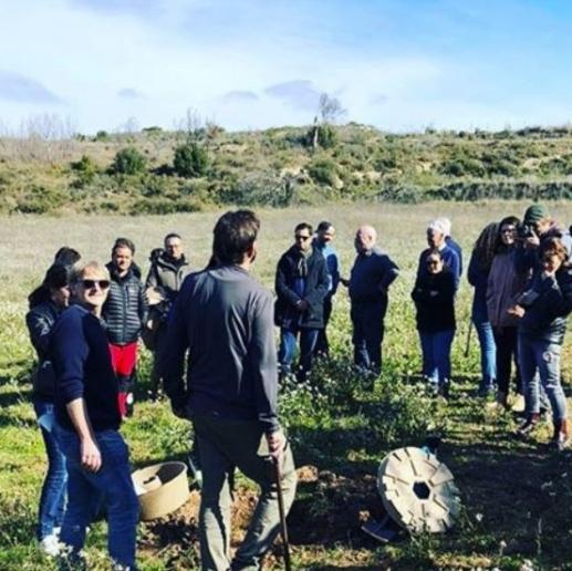 EU LIFE project officer visita El Bruc para demonstración del Cocoon